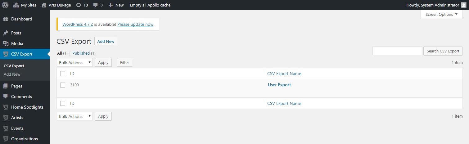 csv-export
